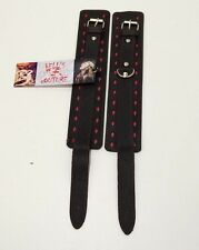 BDSM Clubs Leather Wrist & Ankle Cuffs BDStyle