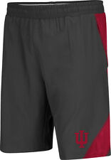 Indiana Hoosiers Adult Gridlock Perfomance Short - Charcoal