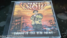Young Know - Takin It To The Next 1997 Album CD OG OOP RARE BAY RAP G-FUNK DOPE!