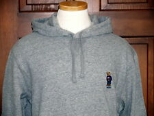 Polo Ralph Lauren Polo Bear Hoodie Sweatshirt Fleece Gray M L XL XXL NWT