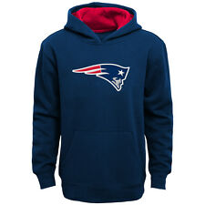New England Patriots Youth Prime Pullover Hooded Sweatshirt - Navy