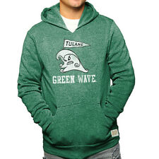 Tulane Green Wave Adult Vintage Pride Logo Hooded Sweatshirt  - Green