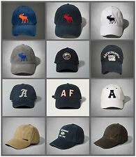 NWT Abercrombie & Fitch Mens By Hollister Classic Baseball Cap AF new A&F Hco