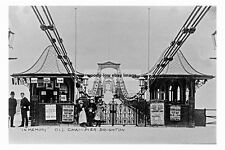 pt1992 - Old Chain Pier , Brighton , Sussex - photograph 6x4