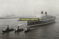 rp12503 - Dutch Liner - Willem Ruys , built 1946 - photograph
