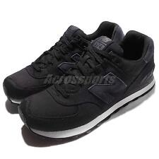 New Balance ML574MDC D ML574MDCD Black Navy Mens Running Shoes ML574MDCD