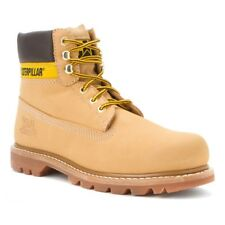 CAT Men's Colorado Lace Up Leather Boots Honey PWC44100-940