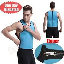 Mens Hot Neoprene Nylon Sauna Shaper Weight Loss Vest Body Slimming Belt Girdle*