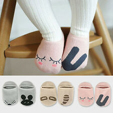 Boys Girls Baby Newborn Infant Floor Sock Kids Rabbit Bear Cotton Socks efe