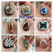 French Canadian Artist - Handmade Adjustable Necklaces - One of a Kind Art!