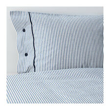 Amazing Ikea   NYPONROS Duvet cover and pillowcase(s), white/blue stripes