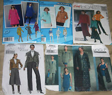 CHOOSE 1 PATTERN Jackets Coat Pants Duster sz 4 6 8 10 12 EASY Pants Skirt
