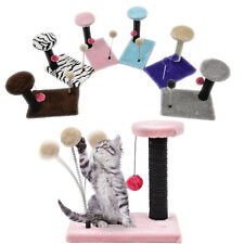 Pet Cat Kitten Scratching Post Tree Spring Scratche Climbing Activity Centre Toy