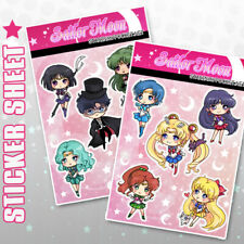 Sailor Moon Anime Stickers Sheets