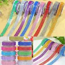 Self-Adhesive Acrylic Rhinestones Stick On Scrapbooking Craft Sticker Tape hs