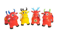ANIMAL SPACE HOPPER TOY INFLATABLE DEER COW HORSE ADULT KID CHILDREN BOY GIRL