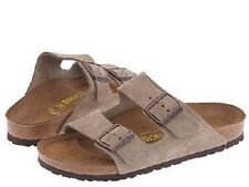 New in Box Birkenstock Men Shoe Sandal 51463 Arizona Taupe Suede