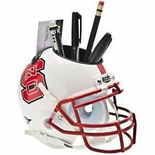 NC State Wolfpack NCAA Football Schutt Mini Helmet Desk Caddy
