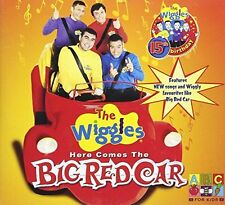 THE WIGGLES - HERE COMES BIG RED CAR NEW CD