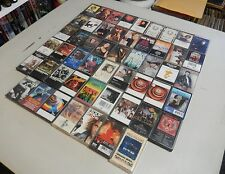 Lot of 52 Cassettes-Rock and Roll/Pop/Some R&B/Rap-see detailed list below.