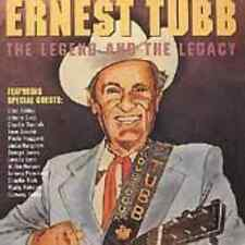 TUBB,ERNEST-ERNEST TUBB: THE LEGEND & THE LEGACY (CDRP)  CD NEW