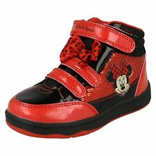 Girls Disney Minnie Mouse Solano Hi Top Trainer