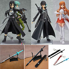 Anime Sword Art Online SAO Sinon Asuna Kirito PVC Action Figures Collection Toys