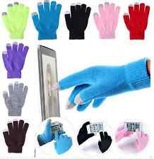 WARM Magic Touch Screen Gloves Smart Phone Tablet Winter Knit Warmer Mittens HS