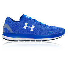 Under Armour Speedform Slingride Mens Blue Cushioned Running Shoes Trainers