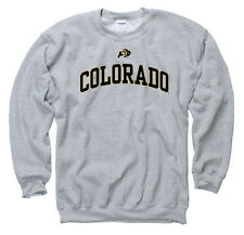 Colorado Buffaloes Adult Icon Crewneck Sweatshirt - Sport Gray