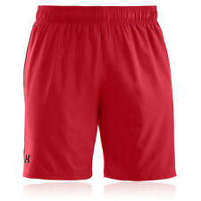 Under Armour HeatGear Mirage 8 Inch Mens Red Breathable Running Sports Shorts