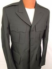 US ARMY MENS SERVICE DRESS GREEN CLASS A COAT JACKET CURRENT UNIFORM NO BUTTONS