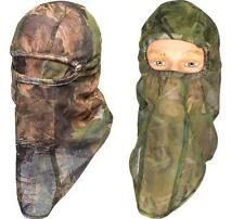 Jack Pyke Lightweight Mesh Balaclava English Oak or Woodland camo Net Face Veil