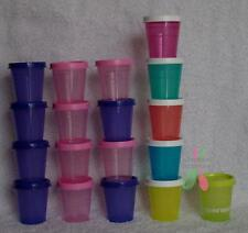 Tupperware Midgets -Set of 4 or 5 -NEW for travel pill sauces, choose your color