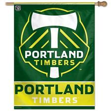 Portland Timbers Vertical Outdoor House Flag