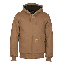 Carhartt Active Jacket hamilton brown - Men's Workwear jacket of robust Canvas