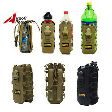 Looyoo 1050D 500ml-2L Tactical Molle Belt Canteen Water Bottle Pouch Bag Cover
