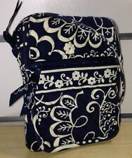 Vera Bradley Mini Hipster Crossbody Bag in Twirly Birds Navy