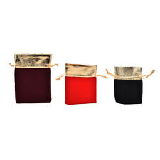 10 PCS New Velvet Jewelry Drawstring Gift Bags Pouch Wedding Party Favors DTv