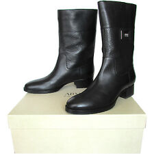 Armani Collezioni stivali donna women's leather boots Made in Italy сапоги $400