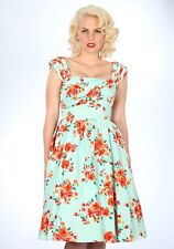 Stop Staring Primrose Swing Dress in Mint Floral NWT