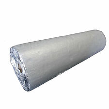 1.2m X 25m 30 SQM SINGLE ALUMINIUM BUBBLE INSULATION FOIL LOFT roof shed caravan