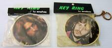 BEATLES GEORGE HARRISON - RINGO STARR KEY RINGS ANABAS 1973 MADE IN ENGLAND