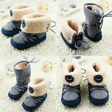 0-18 Month Infants Baby Winter Snow Boots Short High Fur WARM Boot Winter Shoes
