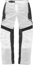 ICON ANTHEM 2 Fighter Mesh Motorcycle Overpants (White) Choose Size
