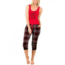 Roller Derby Girl Skate or Die Juniors Tank and Jogger Rayon Pants