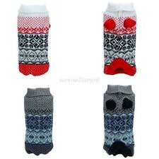 Pet Sweater Dog Warm Knitting Thick Clothes Puppy Cats Shirt Apparel Jacket Coat