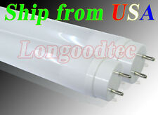 """Lot of 30 - 110V AC T8 48"""" 18W Pure White LED Fluorescent Replacement Tube Light"""