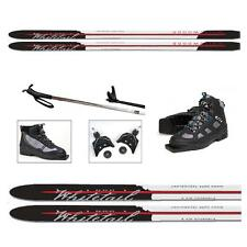 NEW - BUDGET PRICED BACK COUNTRY CROSS COUNTRY SKIS PACKAGE - UNBOX & SKI