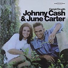 JOHNNY CASH JUNE CARTER - CARRYIN ON WITH JOHNNY CASH & JUNE CARTER NEW CD